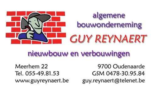 Algemene Bouwonderneming Guy Reynaert