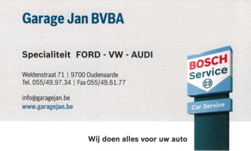 Garage Jan BVBA
